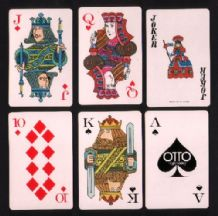 Collectible Japanese Playing cards OTTO high fidelity, Nintendo